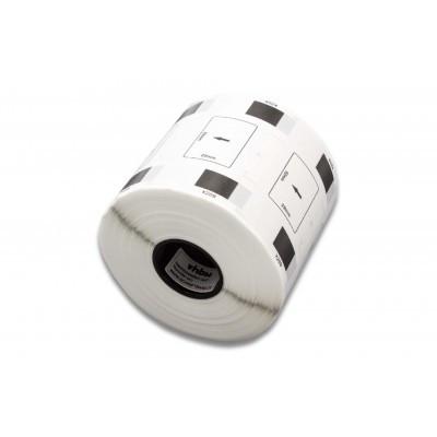 Brother DK-11209 utángyártott etikett címke szalag 62 mm * 29 mm - prémium, tartó nélkül