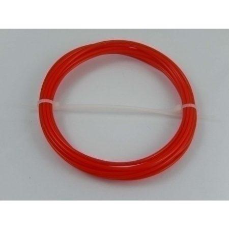 VHBW  PLA filament / szál 3D tollhoz, 3,5 m hossz, 1,75mm szélesség, szín: piros