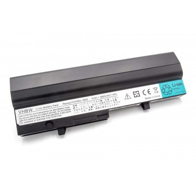 Toshiba PA3785U utángyártott laptop akkumulátor akku - 6600mAh (10.8V) fekete