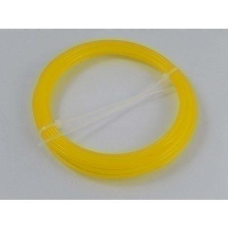 VHBW ABS filament / szál 3D nyomtatóhoz, 1 KG tömeg, 1,75 mm átmérő, szín: sárga
