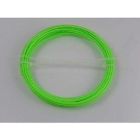 VHBW ABS filament / szál 3D nyomtatóhoz, 1 KG tömeg, 1,75 mm átmérő, szín: neonzöld