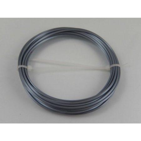 VHBW ABS filament / szál 3D nyomtatóhoz, 1 KG tömeg, 1,75 mm átmérő, szín: ezüst
