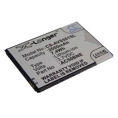 Archos AC50BNE Neon 50B utángyártott okostelefon li-ion akku akkumulátor - 2000mAh (3.7V)