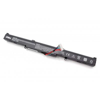 Asus A41-X550E utángyártott notebook akku - 2200mAh (14.4V) fekete
