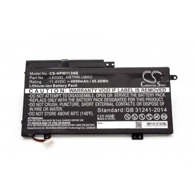 HP 796220-542 utángyártott laptop akkumulátor akku - 4000mAh (11.4V)