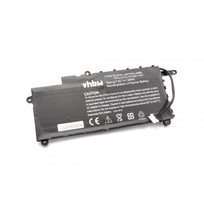 HP PL02XL Pavilion 11 X360 N000 N030 N040 utángyártott laptop akkumulátor akku - 3800mAh (7.6V)