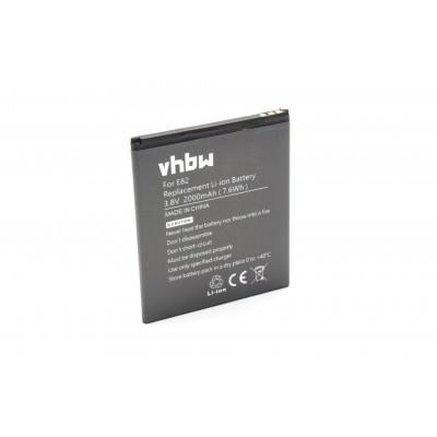 Timmy E82 utángyártott mobiltelefon li-ion akku akkumulátor - 2000mAh (3.8V)