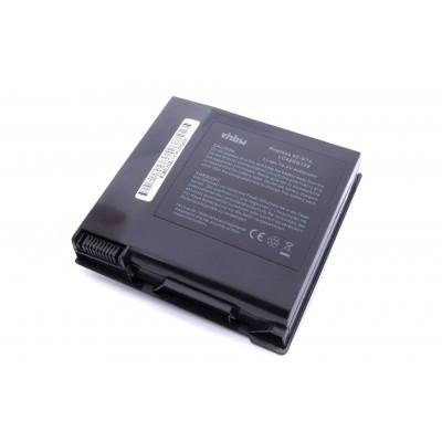Asus A42-G74 utángyártott laptop akkumulátor akku - 4400mAh (14.4V) fekete