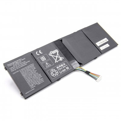 Acer AC14B8K, AL13B3K, AP13B3K, AP13B8K utángyártott laptop akkumulátor akku - 4000mAh (15V) fekete