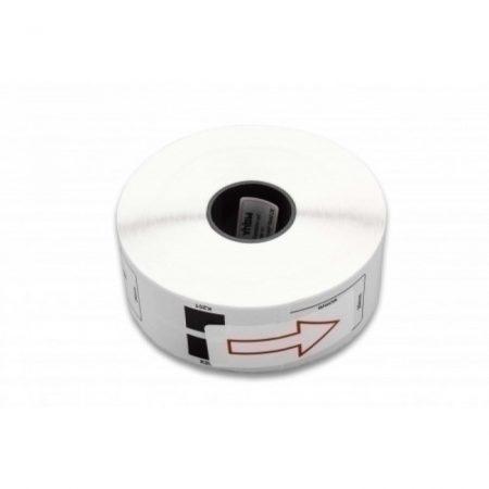 Brother DK-11201 utángyártott etikett címke szalag 29 mm * 90 mm 400db - műanyag tartó nélkül