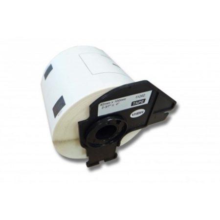 Brother DK-11202 utángyártott etikett címke szalag 62 mm * 100 mm 300db