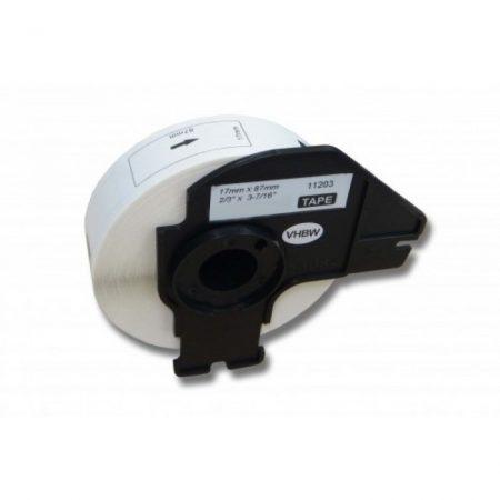Brother DK-11203 utángyártott etikett címke szalag 17 mm * 87 mm 300db