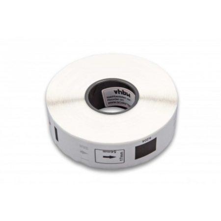 Brother DK-11204 utángyártott etikett címke szalag 17 mm * 54 mm 400db - műanyag tartó nélkül