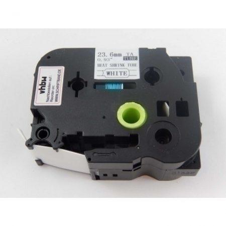 Brother HSE-251 Zsugorcsöves Feliratozószalag Zsugorszalag 23.6mm * 1.5m fekete betű fehér alapon