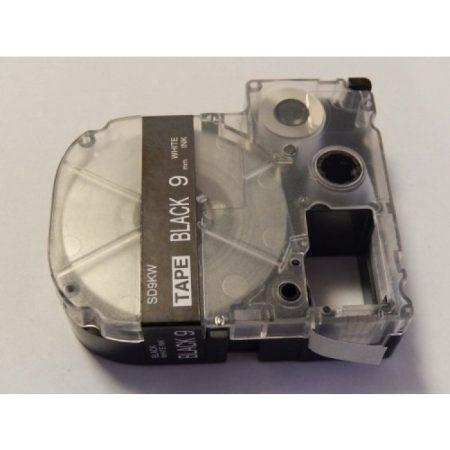 Epson LC-3BWV utángyártott feliratozószalag kazetta 9 mm * 8m fekete alapon fehér nyomtatás