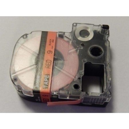 Epson LC-3YRN utángyártott feliratozószalag kazetta 9 mm * 8m piros alapon fekete nyomtatás