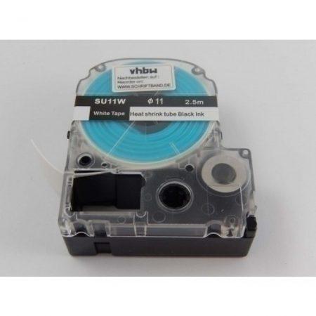 Epson SU11W 11mm*2.5m fekete-fehér zsugorszalag